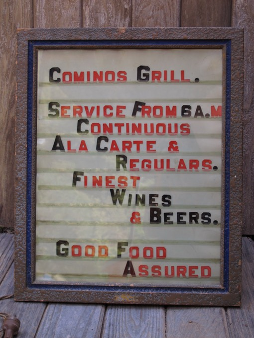 CominosGrillSign